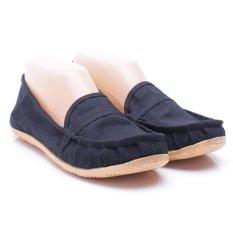 Dr. Kevin Sepatu Wanita Flat 5306 Hitam - Sepatu Wanita ala Wakai Slip On Kanvas - Nyaman dipakai