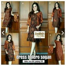 Dress / Bolero Batik Sogan 2