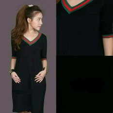 Dress Guci V Black RSQ