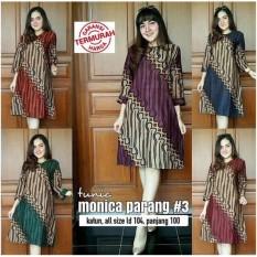 Dress / Tunik / Atasan Batik Monica Parang