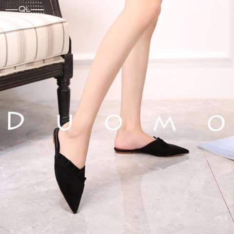 Duomo - Chic Flat Shoes Women - Black