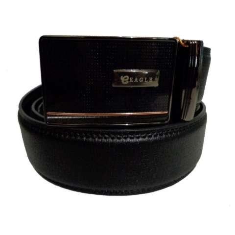Eagle Genuine Leather Ikat Pinggang Pria 3201 ~ Black