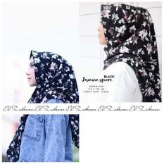 El Zahrana Kerudung Segi Empat - Hijab Segi Empat - Jilbab Segi Empat - Jilbab Motif Maxmara Lux - Monalisa