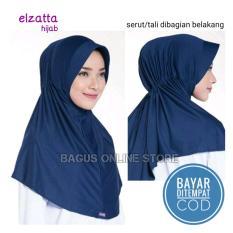 Elzatta Hijab - Jilbab Hijab Instan Bergo Kerudung Elzatta Original