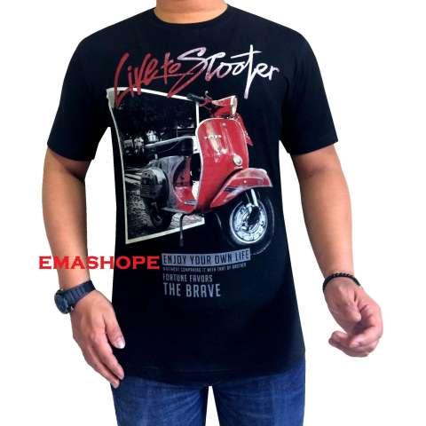 Ema Shope - Kaos Distro T-Shirt Distro Atasan Pria Wanita Fashion Cotton  Combed 30s 6d87619104