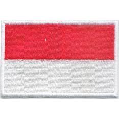 Emblem Bordir Bendera Indonesia