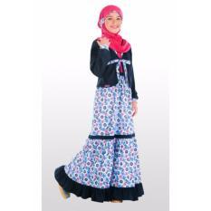 Ethica Moslem Fashion Dress Anak OSK 40 (Navy)