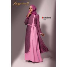Ethica Moslem Fashion Dress Gamis Kagumi 19 Pink