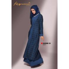 Ethica Moslem Fashion Dress Gamis Kagumi 20 Navy