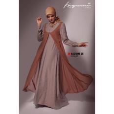 Ethica Moslem Fashion Dress Gamis Kagumi 25 Coklat