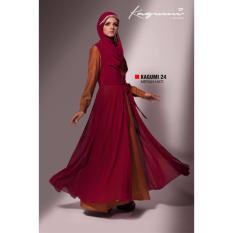 Ethica Moslem Fashion Dress Gamis Kagumi 24 (Merah Hati)