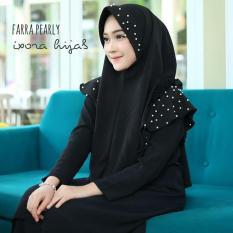 Farra Pearly / Jilbab Instan / Bergo Instan / Pashmina Instan / Jilbab Murah / Jilbab Mutiara