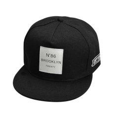 Fashion Snapback Adjustable Baseball Hip Hop Hat (Black) - intl