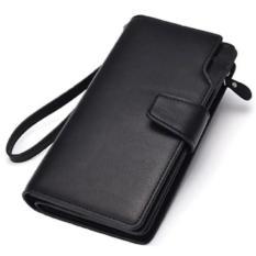 Fia dompet Pria Panjang 2 Lipat Elegant Limited EditionG1 - Black