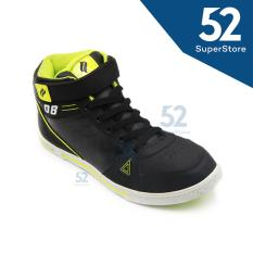 Finotti Sepatu Sekolah J.Bieber 08 - Black/Citroen