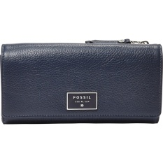 Fossil Dawson Flap Clutch – Midnight Navy, SL 6676B406
