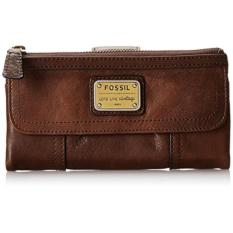 Fossil Emory Wallet Espresso Authentic- Coklat Tua