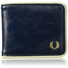 Fred Perry Mens CLASSIC BILLFOLD WALLET Accessory, -navy/ecru, One Size - intl