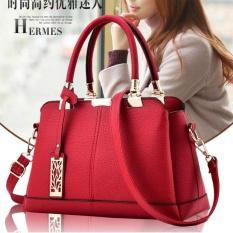 FSMall 814 Tas import warna Merah