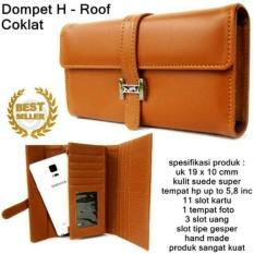 Gabrielle Dompet H Roof Korean Style- Coklat