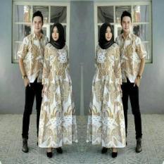 Gamis Batik Elegan Simple