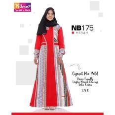 Gamis Dewasa Nibras NB 175 Merah