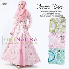 Gamis Katun Jepang Annisa Dress Original By Naura