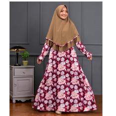 Gamis Syari / Dress Syari / Setelan Gamis ZENIA Plus Khimar