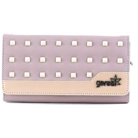Garsel GLN 027/6019 Dompet Lipat Wanita - Capita - Bagus - Cream