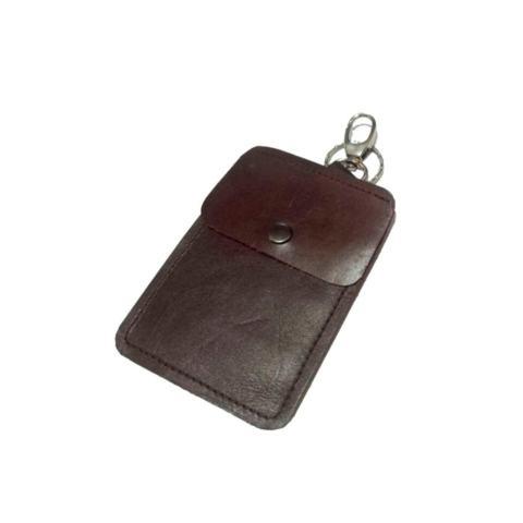 Garuda Gantungan Kunci Dompet STNK Motor/Mobil Bahan Kulit Sapi Asli Trendy - Coklat