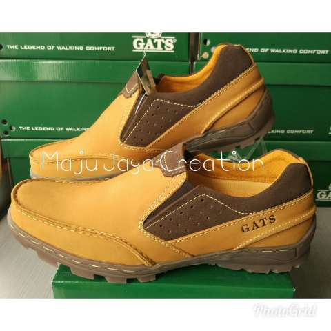 Gats Shoes Sepatu Kulit Pria Mp 2601 Hitam - Daftar Harga terbaik ... 703d1e3fe6