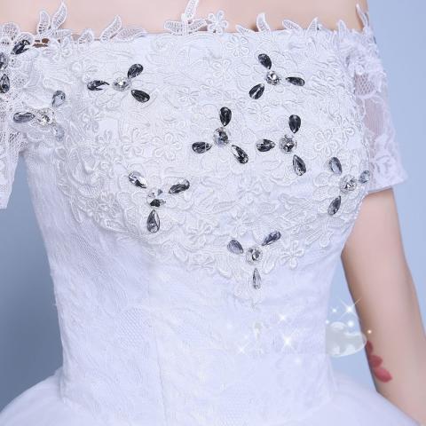 Gaun Pengantin Putih Wedding Gown Wedding Dress 2016 09006
