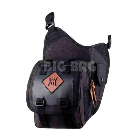 Tas Ransel Gear Bag Predator Tas Laptop Backpack - Black + Raincover + FREE Tas Selempang