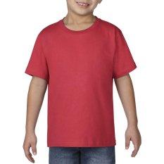 Gildan Youth Premium Cotton 76000B Kaos Polos Original [Red]