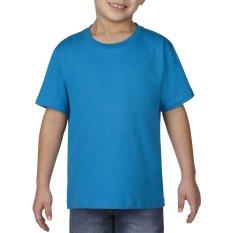 Gildan Youth Premium Cotton 76000B Kaos Polos Original [Sapphire]