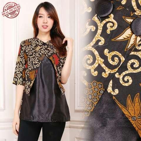 ... Jual Reyn Shop Blouse Erika Top White Atasan Wanita Baju Wanita Source Glow Fashion Atasan blouse