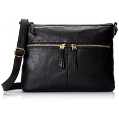 GPL/ Fossil Erin Crossbody, Black, One Size/ship from USA - intl