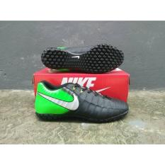 Grad Ori Impor!! Sepatu Futsal Anti Licin tosca/hijau