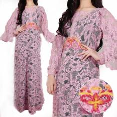 Grateful Fashion  Kaftan Felisha 2 - Pink - TERLARIS