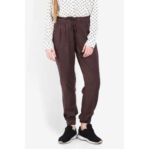 Greenlight  Women Clothing Pants & Leggings Pants  Wanita Pakaian Celana & Legging Pants Brown Coklat Diskon discount murah bazaar baju celana fashion brand branded