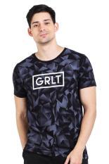 Greenlight Pakaian Atasan Kasual Kaos T-Shirt Pria Men Tshirt Black Diskon discount murah bazaar baju celana fashion brand branded