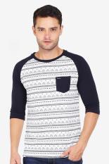 Greenlight Pakaian Atasan Kasual Kaos T-Shirt Pria Men Tshirt Blue Diskon discount murah bazaar baju celana fashion brand branded
