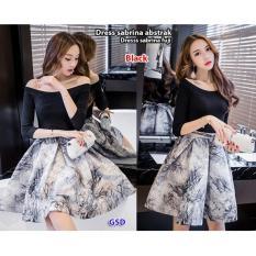 GSD - Baju Wanita / Baju Pesta / Baju Cewek Dress Casual Wanita-Dress Pesta Sabrina Fuji