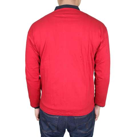 Gudang Fashion - Kemeja Koko Panjang Laki - Merah 1