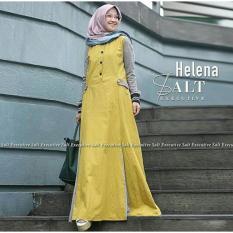 Helena Dress Maxi Gamis Wanita Trendy