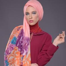 Hijab Pashmina Hungaria Foulard By Mezora (Hitam)