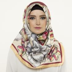 Hijabstore - Moshaict By Itang Yunasz AL 170 - Grey Yellow Floral