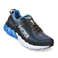 Hoka One One Arahi 2 - Sepatu Pria - Hitam/Biru