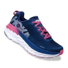 Hoka One One Bondi 5 - Sepatu Lari Wanita - Navy