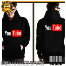 HOODIE Hitam YOUTUBE Best Quality Carvioland 17